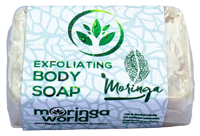 Exfoliating Handcrafted Moringa Soap Bar