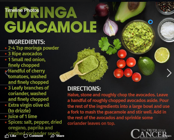 Have You Heard Of Moringa Guacamole?