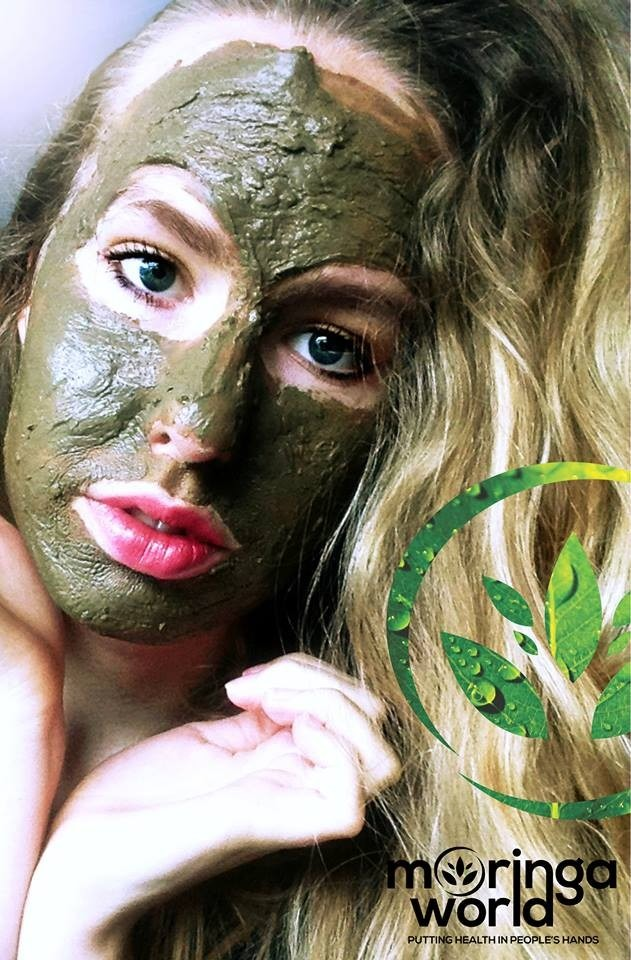 Moringa World's Bentonite Fulvic Facial Masque